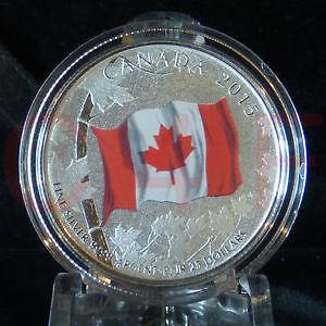 Canadian Flag Coin $25.00