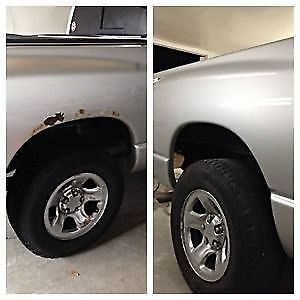 RUST REPAIR/REMOVAL - affordable pricing and great results  Rus