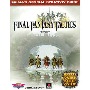 Final Fantasy Tactics Strategy Guide