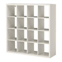 Étagère IKEA blanche modèle Kallax ou Expedit 4X4