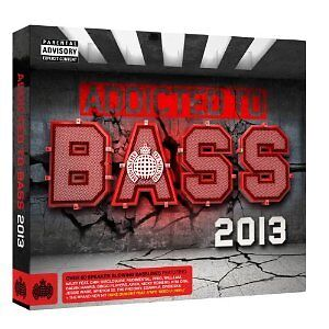 'MINISTRY OF SOUND : ADDICTED TO BASS 2013' 3 CD SET