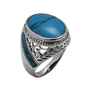 Sterling Silver Turquoise Ring | eBay