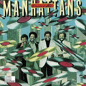 The MANHATTANS Vinyl LP 1980 Greatest Hits 73-80 R&B / Soul