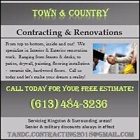 Town & Country Contracting