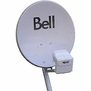 Soucoupe satellite Bell dish