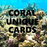 Coral Unique Cards