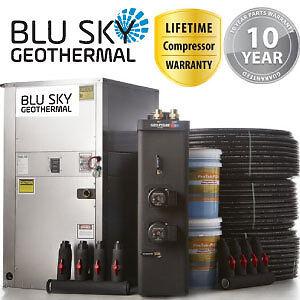 DIY 4 Ton Geothermal Kit Complete