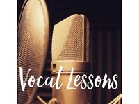 Leicester Vocal Coach/ Singing Teacher - Piano Voice Guitar Lessons
