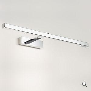 Faretto cromato luce specchio bagno squadrato applique da parete astro kashima ebay - Applique bagno specchio ...