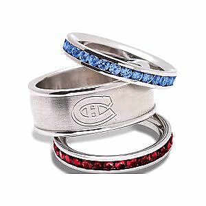 Montreal Canadiens 3 Ring Set