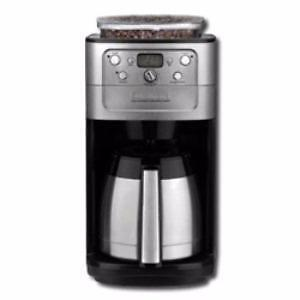 Cuisinart Automatic Burr Grind & Brew Thermal Coffeemaker DGB-900BCC