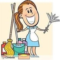 ** Professional Housekeeper Available **