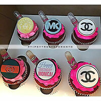 EDIBLE IMAGE TOPPERS *CUPCAKES*CAKES AND MUCH MORE