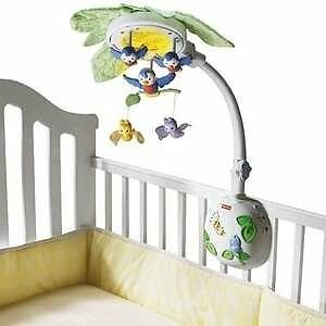 FISHER PRICE FLUTTERBYE DREAMS LULLABY