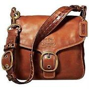 Coach Leather Bleeker Bag