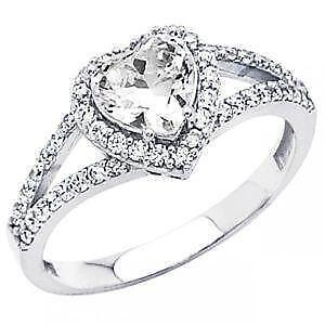 heart shaped diamond engagement rings - Heart Shaped Diamond Wedding Ring