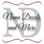 Name Decals and More