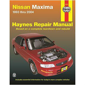 1993 - 2004 Nissan Maxima Haynes Manual #72021