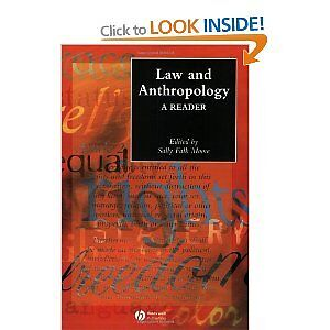 Textbook Law and Anthropology a reader by Sally Falk Moore New