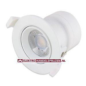 LED downlight inbouwspot 85mm richtbaar