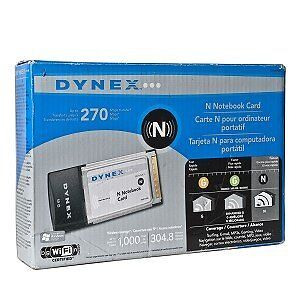 NEW-Dynex DX-NNBC PCMCIA Wireless-N Laptop Card