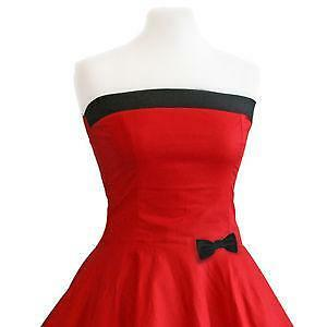 rote kleider g nstig online kaufen bei ebay. Black Bedroom Furniture Sets. Home Design Ideas