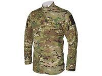 Vertx Tactical Camouflage Shirt Multicam VTX8220MC Size MEDIUM