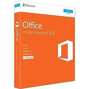 MS Office Home and Business 2016 English (Sealed)