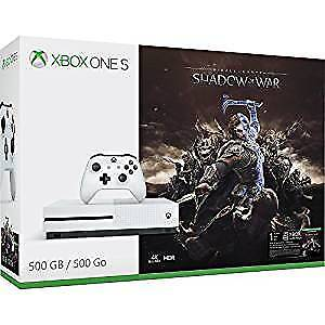 NEW BRAND NEW UNOPENED XBOX ONE S SHADOW OF WAR BUNDLE