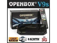 Sky live tv openbox over 900 channels HD ready wifi open box not firestick android box v9s