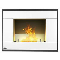Brand New Napoleon Ventless Square White Finish Fireplaces