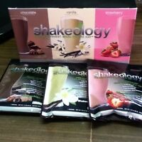 2 boxes Shakeology combo pack