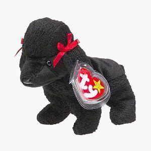Gigi the black poodle Ty Beanie Baby stuffed animal