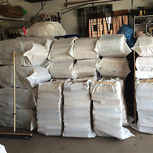 XXL Bags Birch Firewood $35  *Pickup North Edm/Free Delivery**""