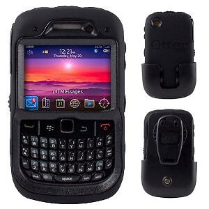 NEW OEM! OtterBox Defender Case & Clip for  BlackBerry Curve 8520/8530/9300/9330