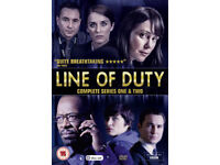 Line of Duty - series 1 and 2. BBC show on DVD in very good condition.