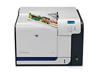 HP Colour LaserJet CP3525dn A4 Printer