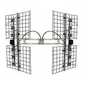 FOCUS BEST 8HD UHF HD TV ANTENNA 80+ RANGE, 8 BAY ANTENNA,HD ANT