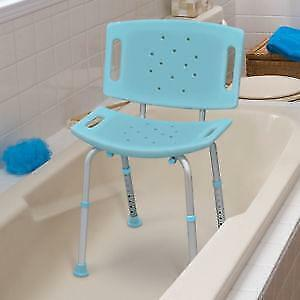 new in box  bath chair with back and without back  for $ 65.00 tel 647-781-8987