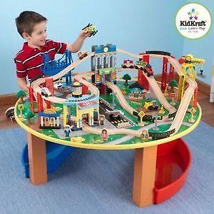 Train Table Toys Games