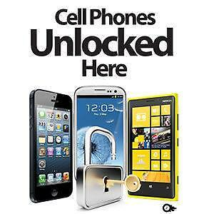 UNLOCK YOUR ANY ROGERS/FIDO/CHATR/BELL/VIRGIN/TELUS/KOODO/WIND