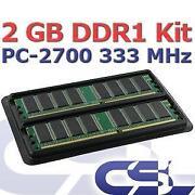 DDR RAM Speicher / 333 MHz / PC2700