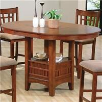 5 piece Dining table and chairs pub style