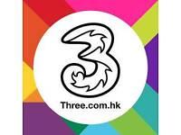 My 3 network sim