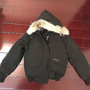 Brand new Canada goose bomber jacket with tags