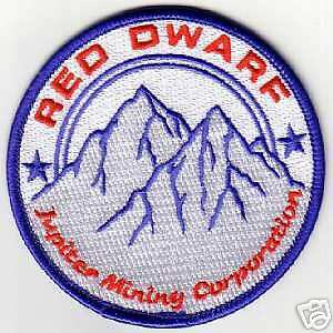 RED DWARF JMC PATCH - RDF03