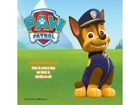 SEE PAW PATROL'S CHASE AT WHITE LION WALK!