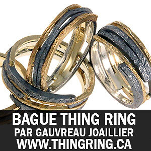 Bague en Or Thing Ring Originale de Gauvreau Joaillier
