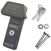 Cardale Garage Door Lock