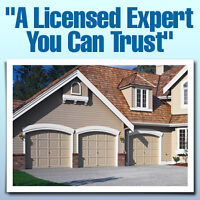 Residential  & Commercial expert garage door  technician at your
